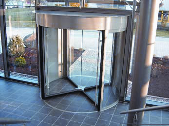 Las puertas giratorias son antiguas for Puerta giratoria